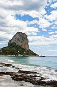 Rock of Ifach in Calpe Spain