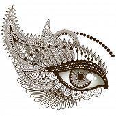 Eye, vector illustration