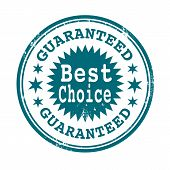 Best Choice Guaranteed Stamp
