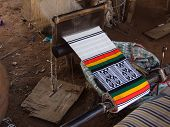 Loom colors in Mali