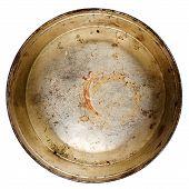 Rusty Round Metal Tin Can