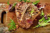 picture of ribeye steak  - T - JPG