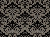 pic of taupe  - An Illustration Of A Seamless Damask Pattern for Background - JPG