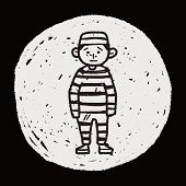 pic of jail  - Jail Doodle - JPG