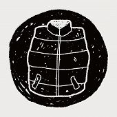 image of vest  - Vest Doodle - JPG