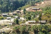 stock photo of shan  - Hill Tribe Village - JPG