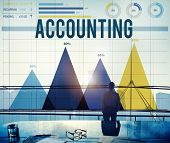 picture of financial audit  - Accounting Financial Banking Economy Marketing Concept - JPG