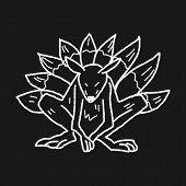 foto of werewolf  - Werewolf Doodle - JPG