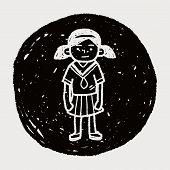 image of grils  - Gril Doodle - JPG