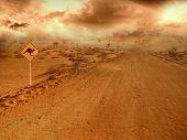 Carretera de Outback australiano
