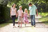 foto of 8-track  - Family Walking In Countryside Together - JPG