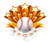 Baseball Emblem, vector