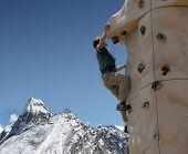 Climbing Wall - Nepal