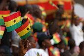 Ghanaians celebrate the 50th