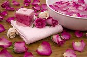 Roses In A Spa