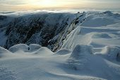 Cairngorm Plateau In Winter, Scotland