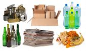 stock photo of segregation  - Garbage that can be recycled - JPG