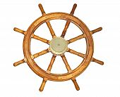 Old Style Ship Wheel