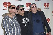 LAS VEGAS - SEPTEMBER 24 - Sublime with Rome's Bud Gaugh, Rome Ramirez, and Eric Wilson at the 2011 iHeartRadio Music Festival on September 24, 2011 at the MGM Grand Garden Arena in Las Vegas, Nevada.