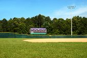 Baseball Field Scoreboard