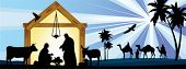 picture of nativity scene  - Star of Bethlehem - JPG