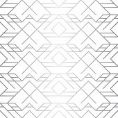 Silver Texture. Seamless Geometric Pattern. Silver Background. Vector Seamless Pattern. Geometric Ba poster