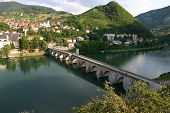 Old Stone Bridge On The Drina In Visegrad