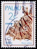 A 2-cent Stamp Printed In Palau