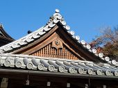Gabled Temple Roof