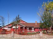 Red Ranch Home