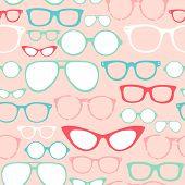 Gafas retro de inconsútiles