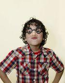 Latin Boy Funny Faces