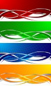 Vector Colorful Banners