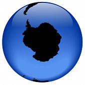 Globe View - Antarctica