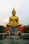 Big Buddharupa at Singburi Province, Thailand.
