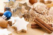 Zimtstern christmas cookies