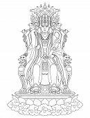 pic of taoism  - Golden Mother is a Taoism Goddess - JPG
