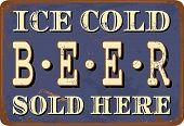 Vintage Tin Sign