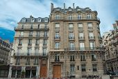 Typical Parisian building fa�?�§ades