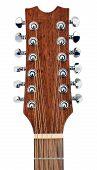 Twelve String Guitar Tuning Pegs