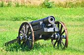 Ancient artillery cannon
