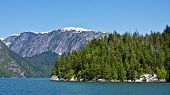 pic of punchbowl  - Misty Fjords National Monument Wilderness near Ketchikan Alaska - JPG