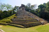 Pyramid. Palenque, Mexico