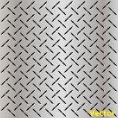 Perforado de Vector concepto conceptual gris metal el acero inoxidable Aluminio patrón textura malla backgr