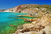 Milos island beaches. Greece series