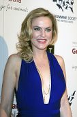 LOS ANGELES - MAR 23:  Elaine Hendrix arrives at the 2013 Genesis Awards Benefit Gala at the Beverly