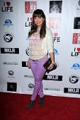 LOS ANGELES - APR 2:  Sandra Vidal arrives at  the No Kill L.A. Charity Event at the Fred Segal on A