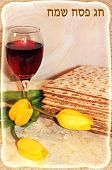 stock photo of seder  - joyful spring festival  - JPG