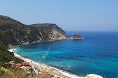 Petanoi Beach, Kefalonia, Greece