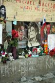 Michael Jackson Fan Wall